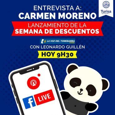 Entrevista con Carmen Moreno